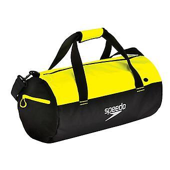 Speedo Unisex adulto Duffel Bag - Giallo Fluo/Nero