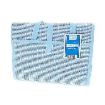 Country Club Beach Mat, Blue 90 x 180cm