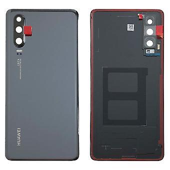 Huawei batería batería cubierta de la batería cubierta negra para P30 02352NMM reparacion nuevo