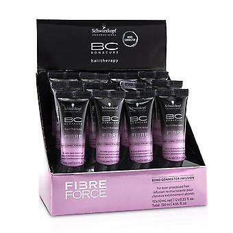 Schwarzkopf BC Bonacure Hairtherapy Fibre Force Bond Connector Infusion (For Over-Processed Hair) 12x10ml/0.33oz