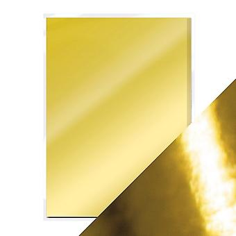 Craft Perfect A4 High Gloss Mirror Card Polished Gold Tonic Studios