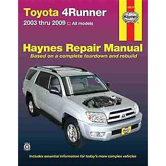 Toyota 4Runner - '03-'09 by Tim Imhoff - Quayside - John Haynes - 978