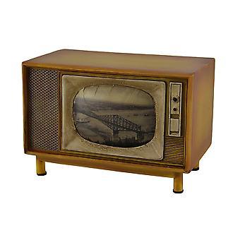 خمر براون إنهاء وحدة التحكم ريترو التلفزيون بنك كوين