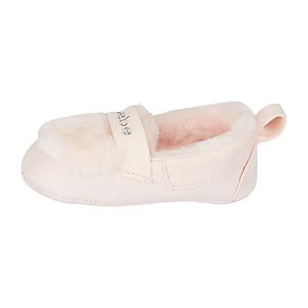 bebe Infant Girls Moccasin Slippers Lightweight Slip-On Shoes