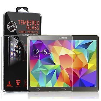 Cadorabo Panzer Folie für Samsung Galaxy Tab S (10,5 Zoll) - Schutzfolie in KRISTALL KLAR – Gehärtetes (Tempered) Display-Schutzglas in 9H Härte mit 3D Touch Kompatibilität