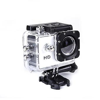 Action underwater camera ultra hd waterproof sports camera wide-angle camera kit white