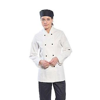Portwest rachel ladies chefs jacket c837