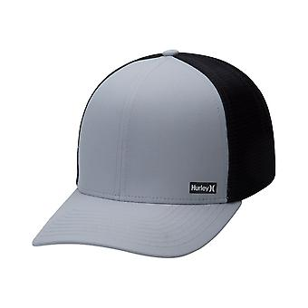 Hurley Men's Snapback Trucker Cap ~ League grey