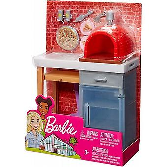 Barbie Large Outdoor Accessory Set - Pizza Oven