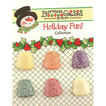 Holiday Buttons Gumdrops Cm 111