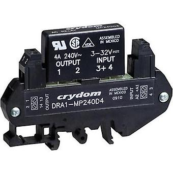 CRYDOM DRA1-MP240D3 DIN Rail Mount Solid State Relay, AC