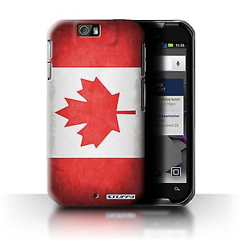 STUFF4 Tilfelle/Cover for Motorola IronRock/XT626/Canada/kanadiske/flagg