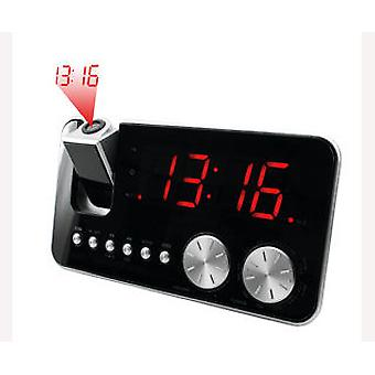 Soundmaster Clock Radio AM / FM Projection (Home , Bedroom , Alarm clock)