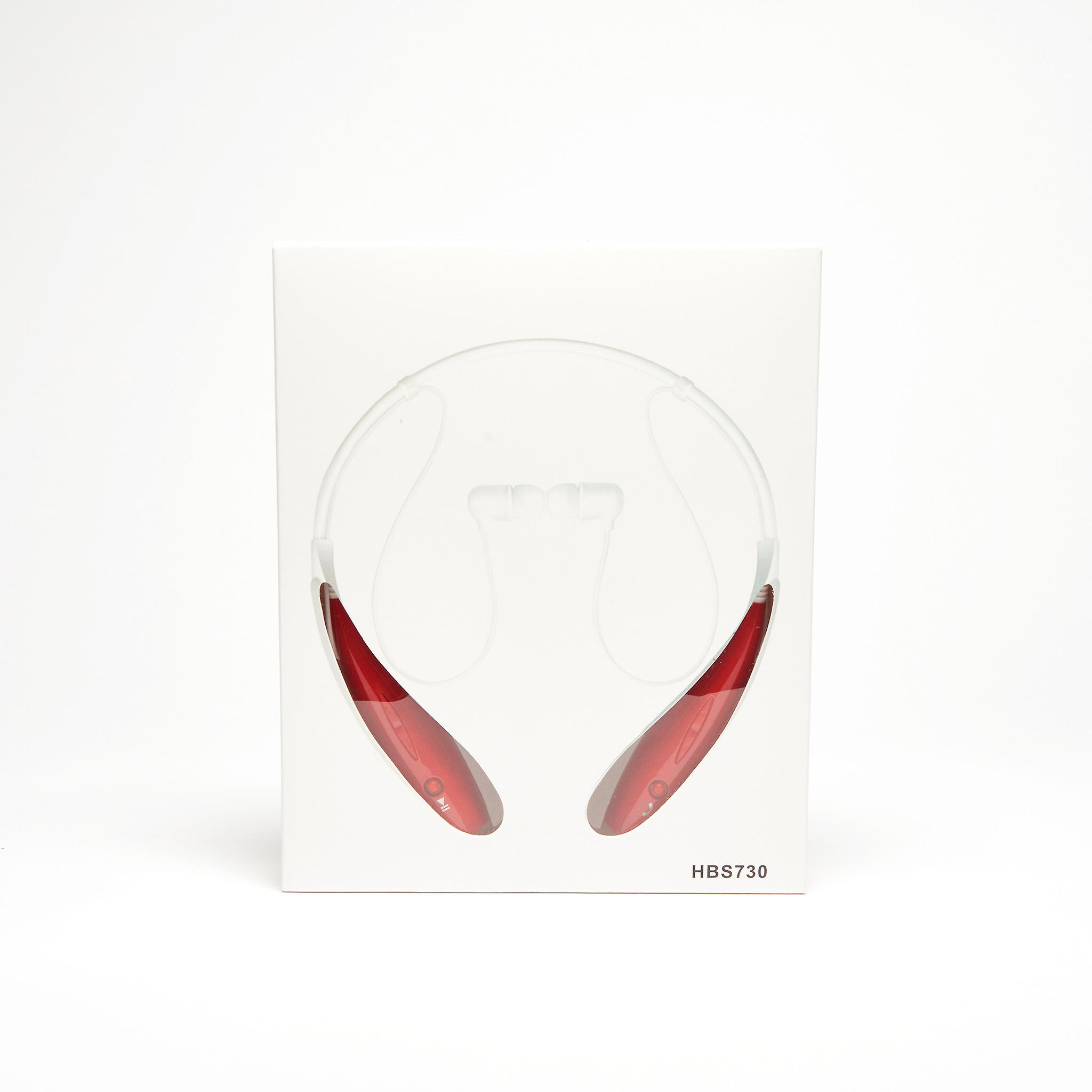 Wireless Stereo Sports Headset - Red
