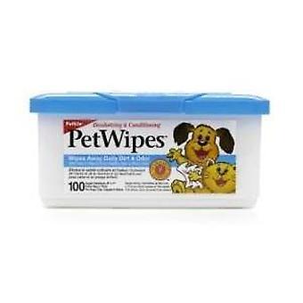 Wipes Pet Pkt 100 (Petkin)