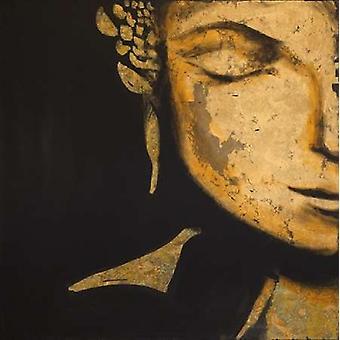 Zen Buddha Poster Print by JC Pino