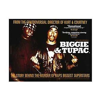 Biggie e Tupac Movie Poster (17 x 11)