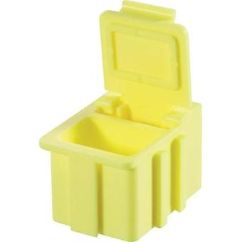 SMD box Yellow Lid colour: Yellow 1 pc(s) (L x W x H) 16 x 12 x 15 mm Licefa N12244