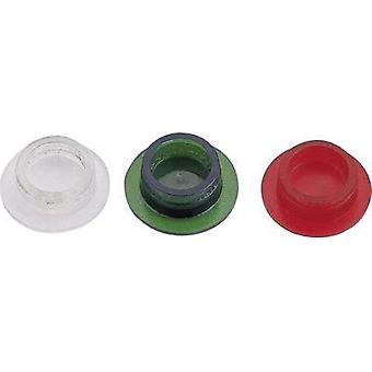 Protector lens Red Suitable for LED, Bulb Strapubox LA1 ROT