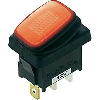 Toggle switch 12 Vdc 16 A 1 x Off/On SCI R13-66B8 latch 1 pc(s)