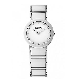 Bering ladies watch wristwatch slim ceramic - 32327-754 stainless steel