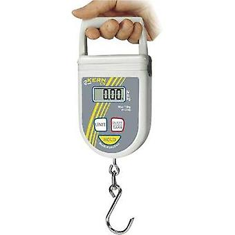 Hanging scales Kern Weight range 50 kg Readability 100 g