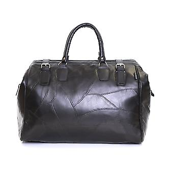 Slimbridge Malaga læder Rejsetaske, sort