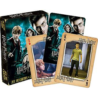 Harry Potter Order Of The Phoenix set of 52 playing cards (+ jokers)   (nm 52419)