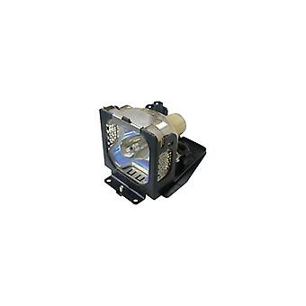 GO Lamps-Projector lamp (equivalent to: 610-332-3855, Sanyo POA-LMP106) 200-Watt, user-replaceable UHP-2000 hour (s)-for Sanyo LP-