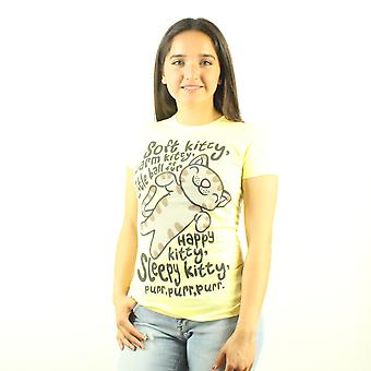 The Big Bang Theory Soft Kitty Song Women's Yellow T-shirt