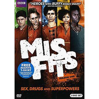 Misfits - Misfits: Season 1 [DVD] USA import