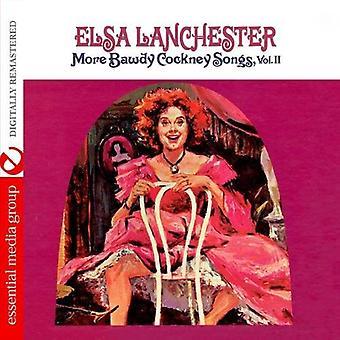 Elsa Lanchester - Elsa Lanchester: Vol., importować utwory Cockney sprośny 2-więcej [CD] Stany Zjednoczone Ameryki
