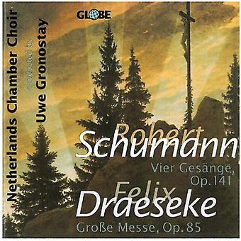 R. Schumann - Schumann: Vier Ges Nge, op. 141; Draeseke: Gro E Messe, op. 85 [CD] USA importieren