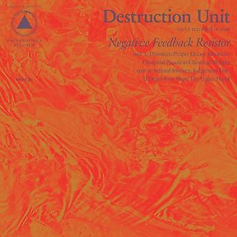 Destruction Unit - Negative Feedback Resistor [CD] USA import
