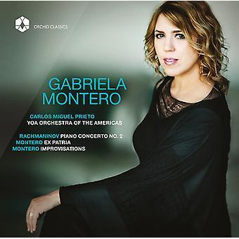 Rachmaninov / Montero / Yoa orkester klaver værker [CD] USA - Gabriela Montero - import