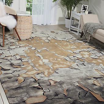 Prismatic Rugs Prs02 By Nourison In Beige And Silver