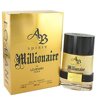 Lomani Men Spirit Millionaire Eau De Toilette Spray By Lomani
