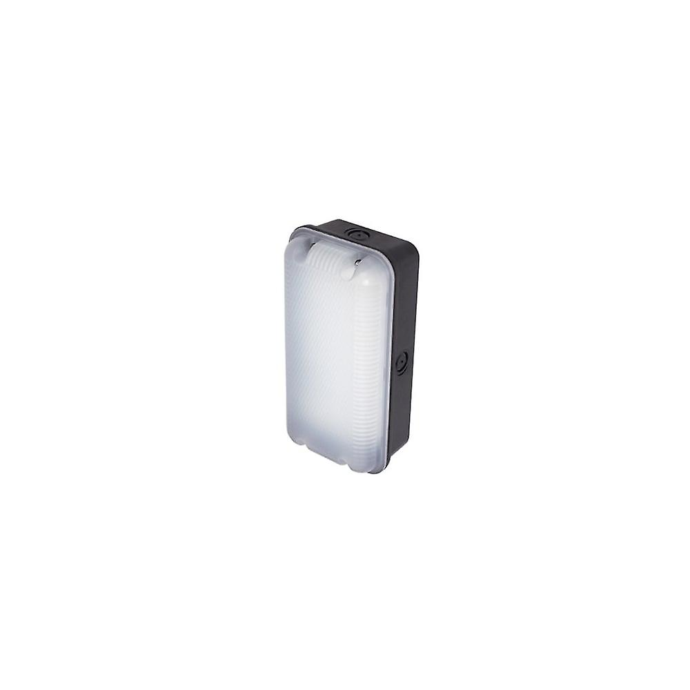 Ansell Sleek LED Polycarbonate Bulkhead 5W LED Black