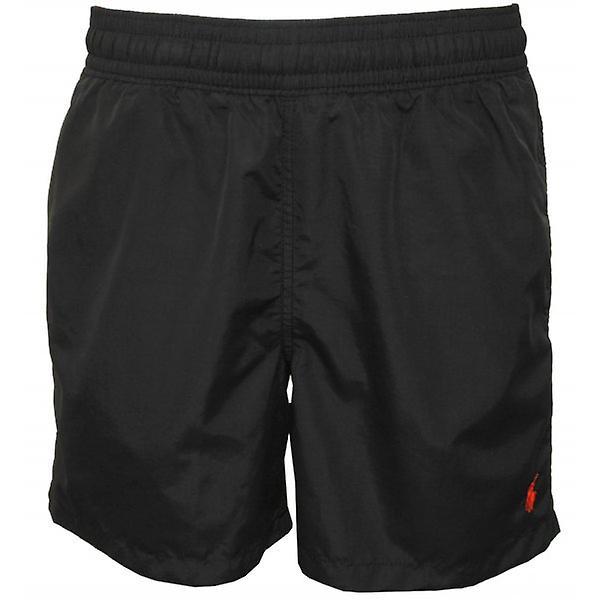 Polo Ralph Lauren Hawaiian Swimming Shorts, Polo Black