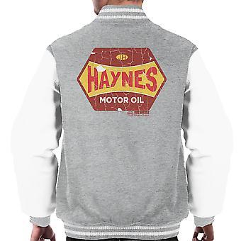 Haynes Golden Fleece Motor Oil Men's Varsity Jacket