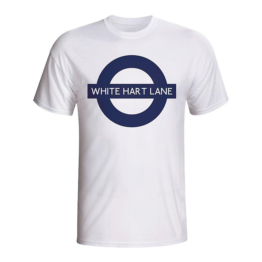White Hart Lane London Tube T-shirt (white)