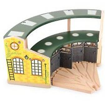Legler Garage Train Round House (Toys , Vehicles And Tracks , Parking And Circuits)