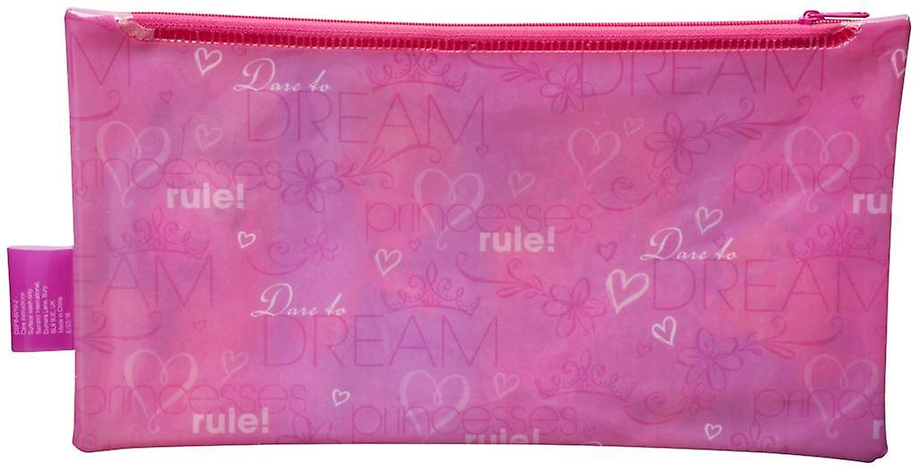 Disney Princess Large Flat PVC Pencil Case