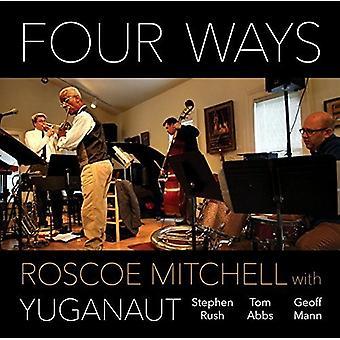 Mitchell, Roscoe med Yuganaut - fire måder [CD] USA import