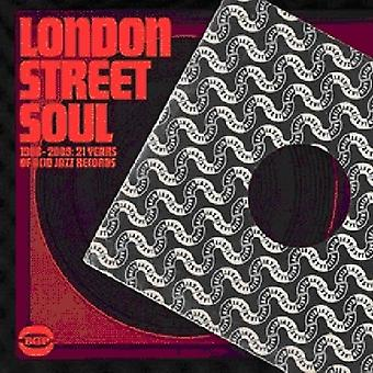 London Street Soul - 1988-09: 21 Years of Acid Jazz Records [CD] USA import