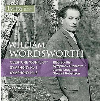 Wordsworth, William / Loughran, James - orkesterværker [CD] USA import