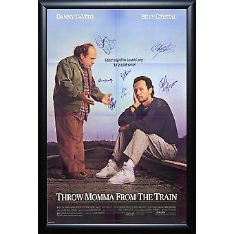 Throw Momma from the Train - Signed Movie Poster
