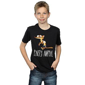 Disney Boys Zootropolis Party Animal T-Shirt