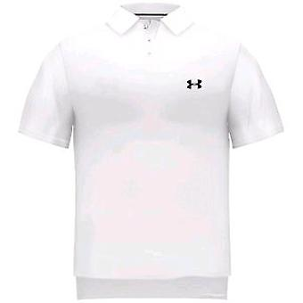 UNDER ARMOUR performance polo [white]