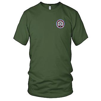 US Army - 502nd Airborne Infantry Regiment Widowmaker Embroidered Patch - Mens T Shirt